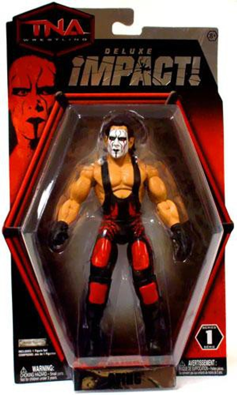 TNA Wrestling Deluxe Impact Series 1 Sting Action Figure