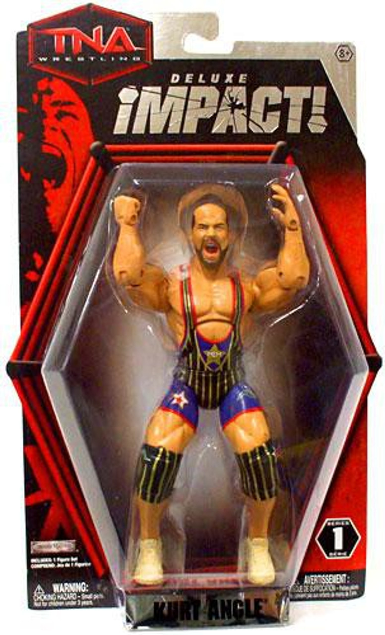 TNA Wrestling Deluxe Impact Series 1 Kurt Angle Action Figure