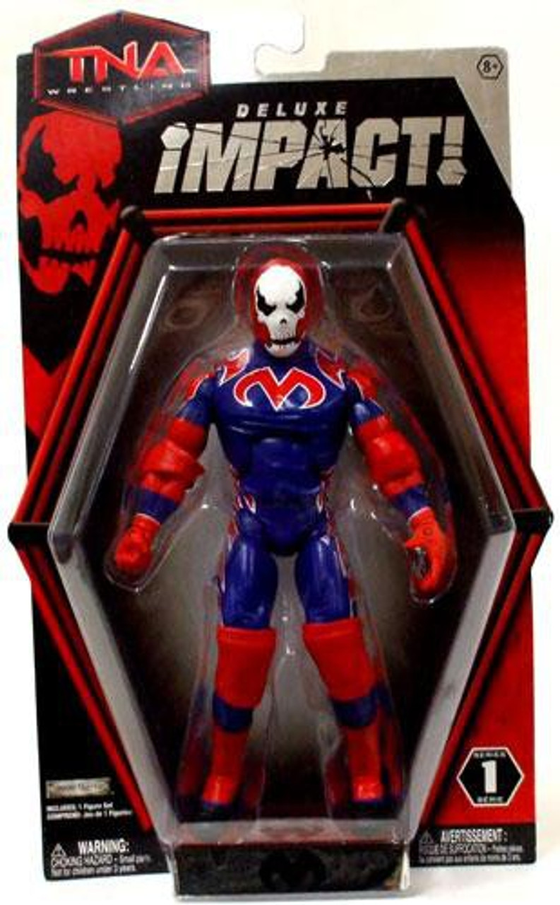 TNA Wrestling Deluxe Impact Series 1 Suicide Action Figure