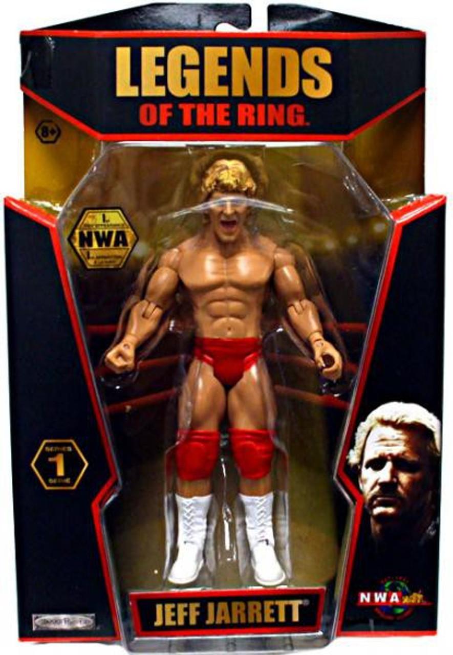 TNA Wrestling Legends of the Ring Series 1 Jeff Jarrett Action Figure [NWA]