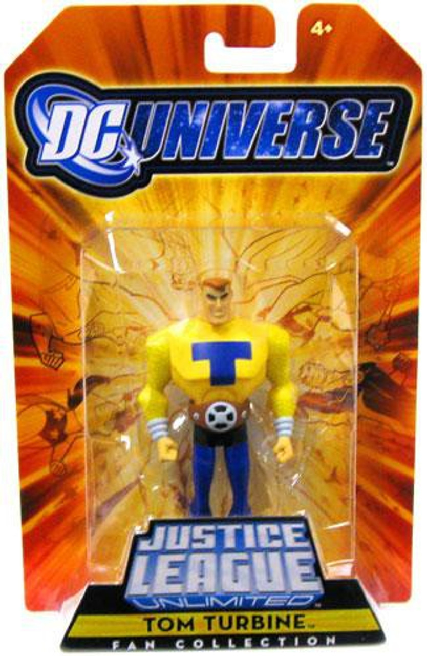 DC Universe Justice League Unlimited Fan Collection Tom Turbine Exclusive Action Figure