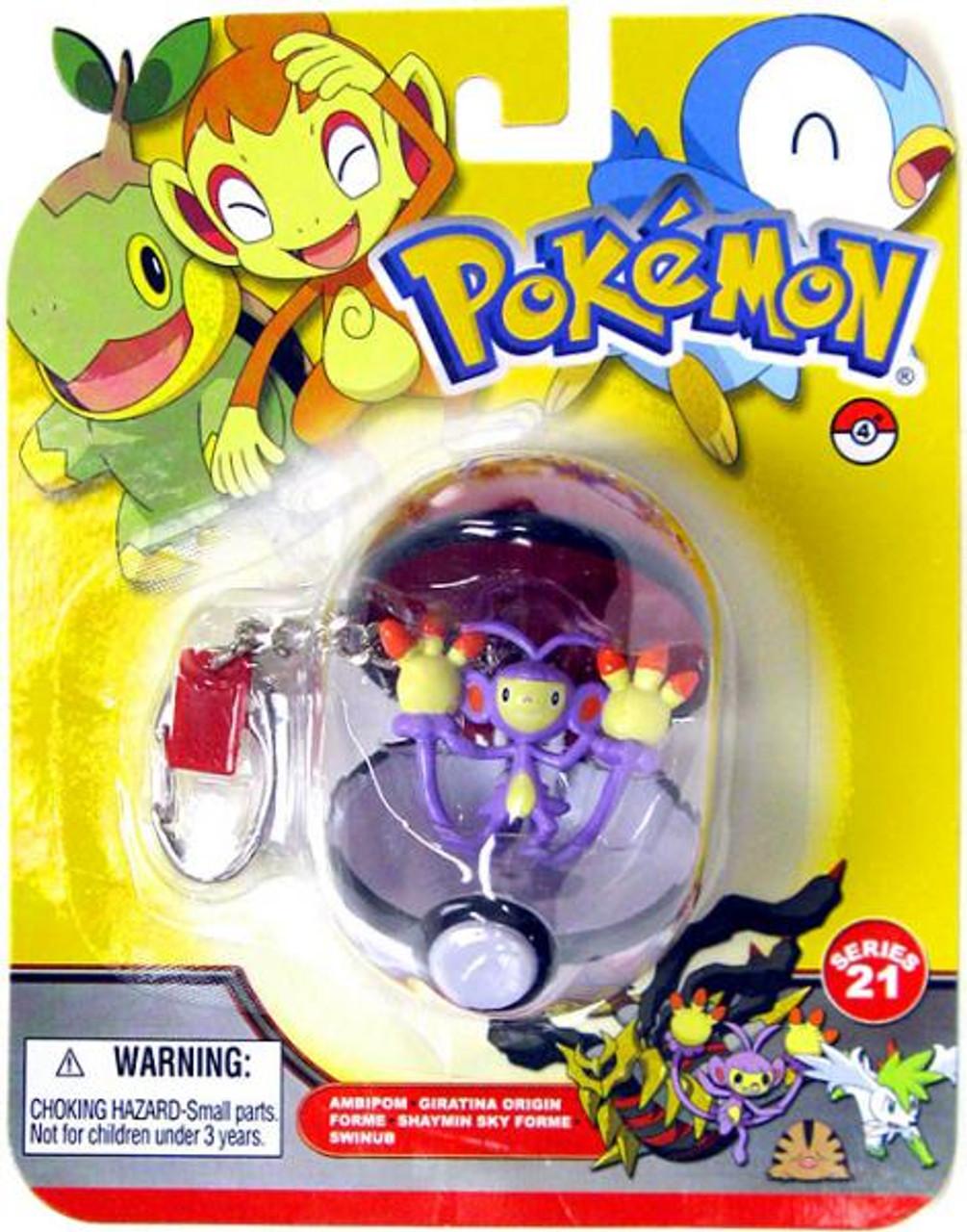 Pokemon Diamond & Pearl Series 21 Ambipom Keychain
