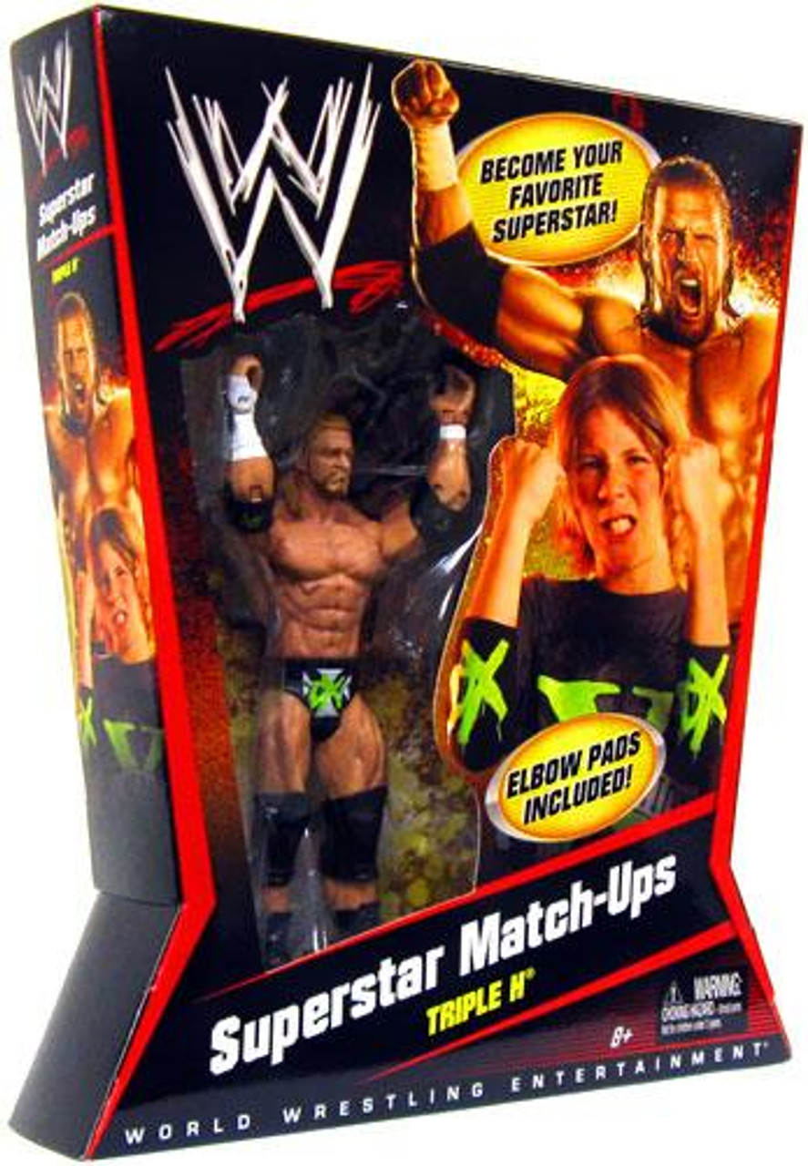 WWE Wrestling Superstar Match-Ups Triple H Action Figure