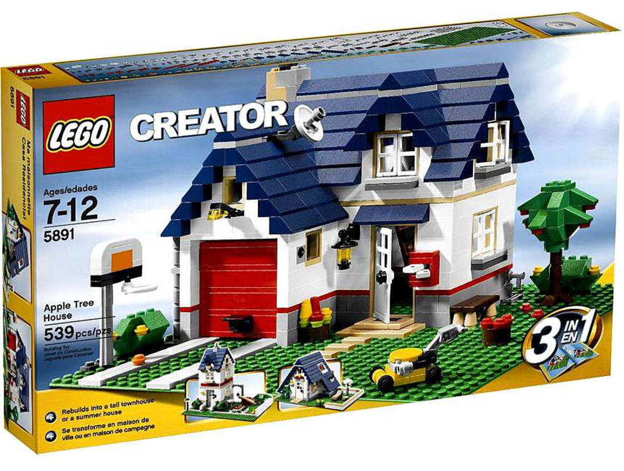 LEGO Creator Apple Tree House Set #5891
