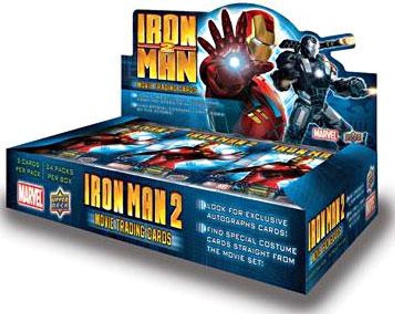 Iron Man 2 Movie Trading Card Box
