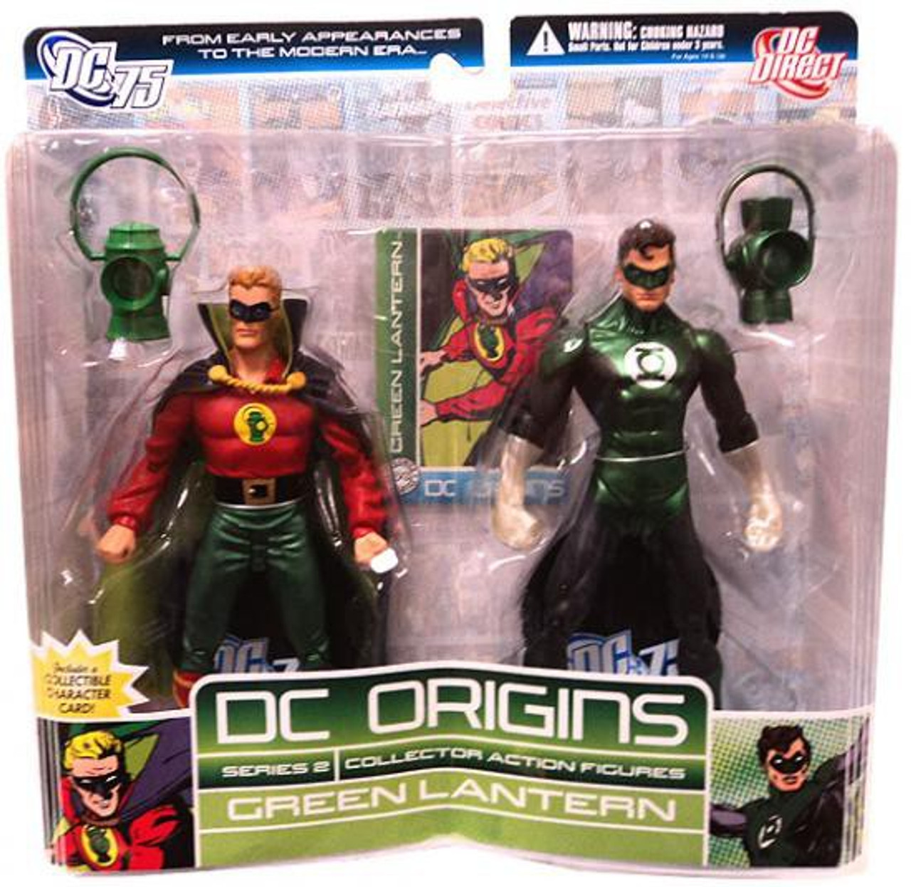 DC Origins Series 2 Green Lantern Action Figure 2-Pack