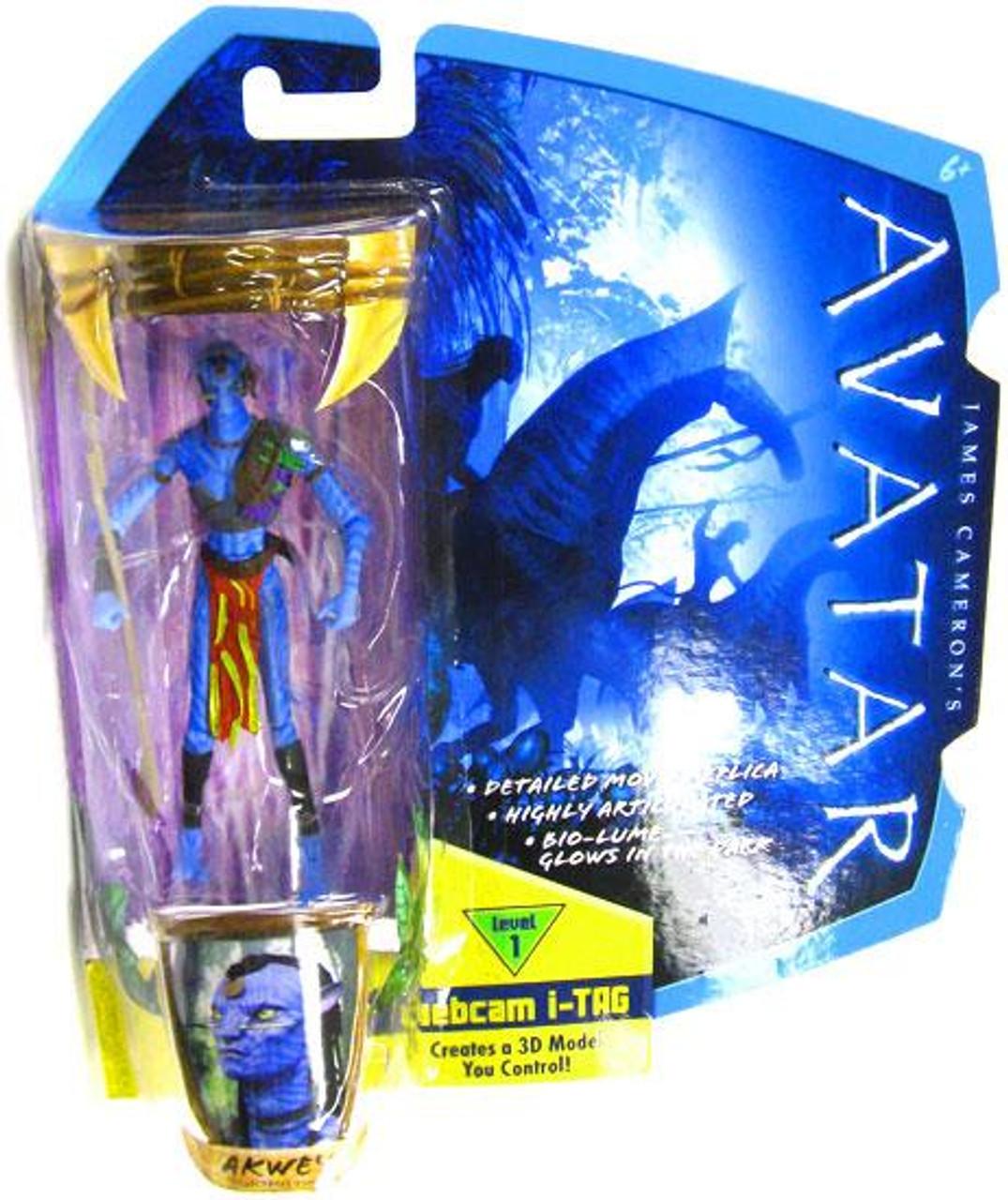 James Cameron's Avatar Akwey Action Figure