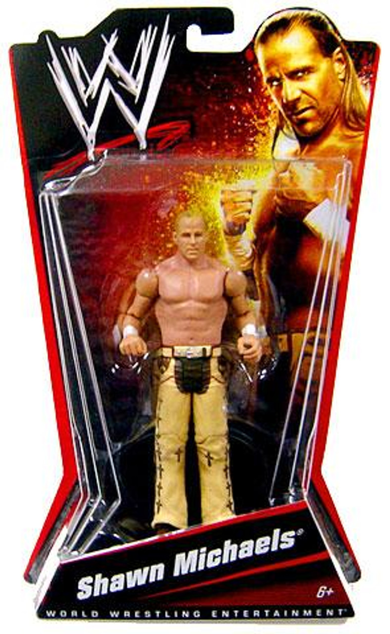 WWE Wrestling Exclusives Shawn Michaels Exclusive Action Figure