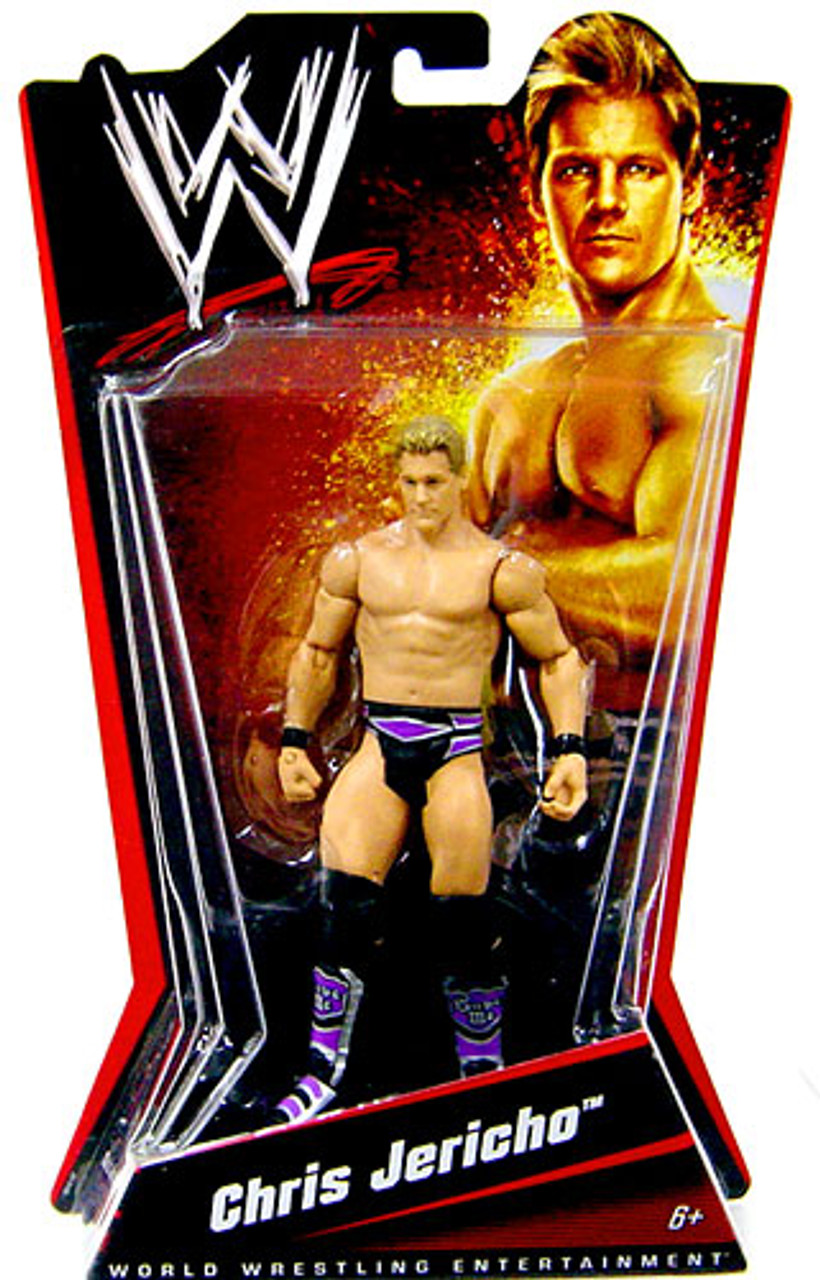 WWE Wrestling Exclusives Chris Jericho Exclusive Action Figure