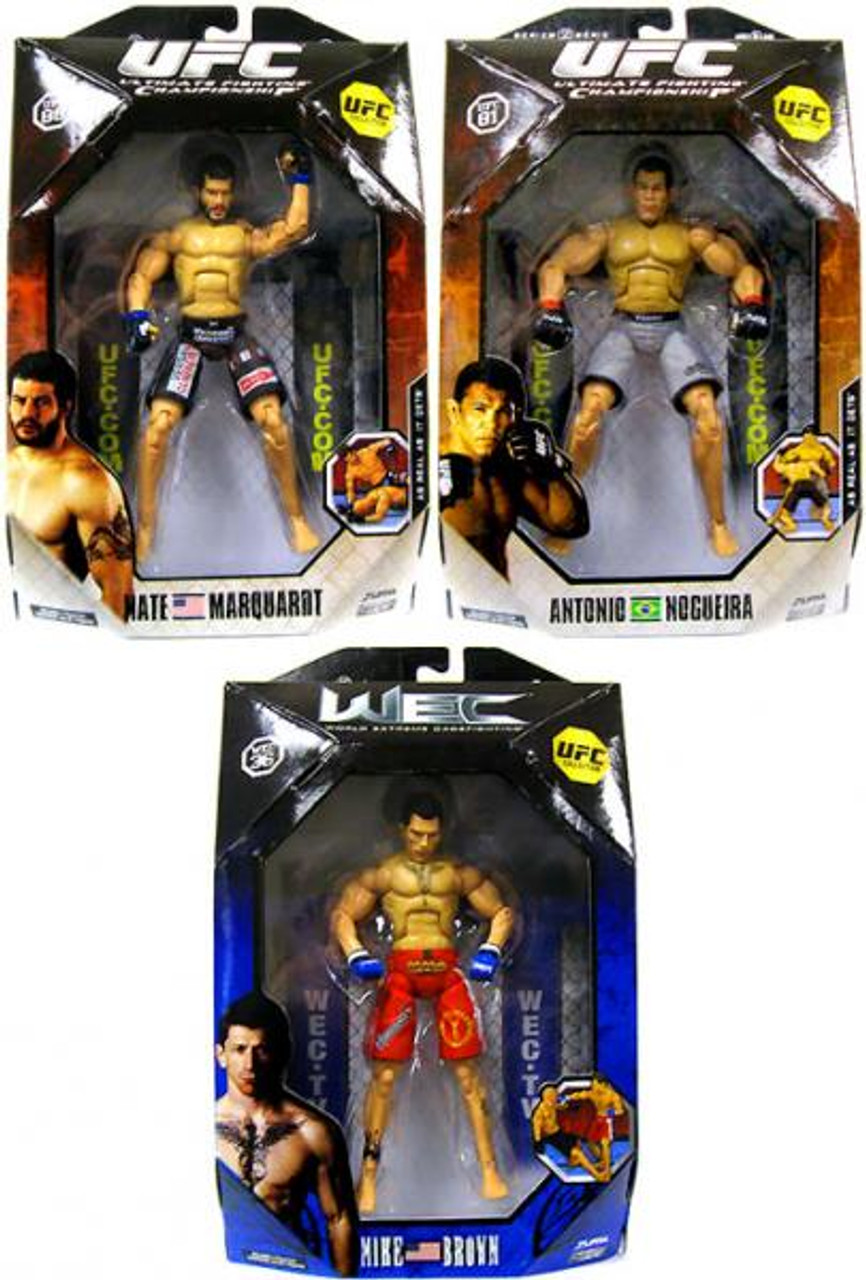 UFC Collection Series 2 Set of 3 Action Figures
