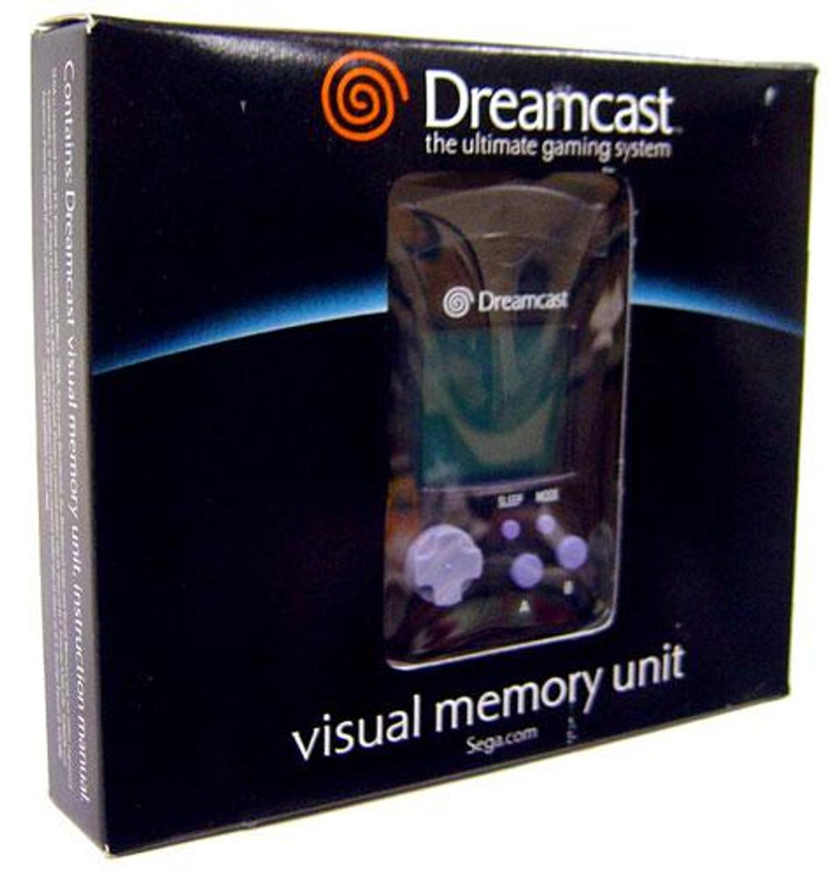 Sega Dreamcast Visual Memory Unit [Black]