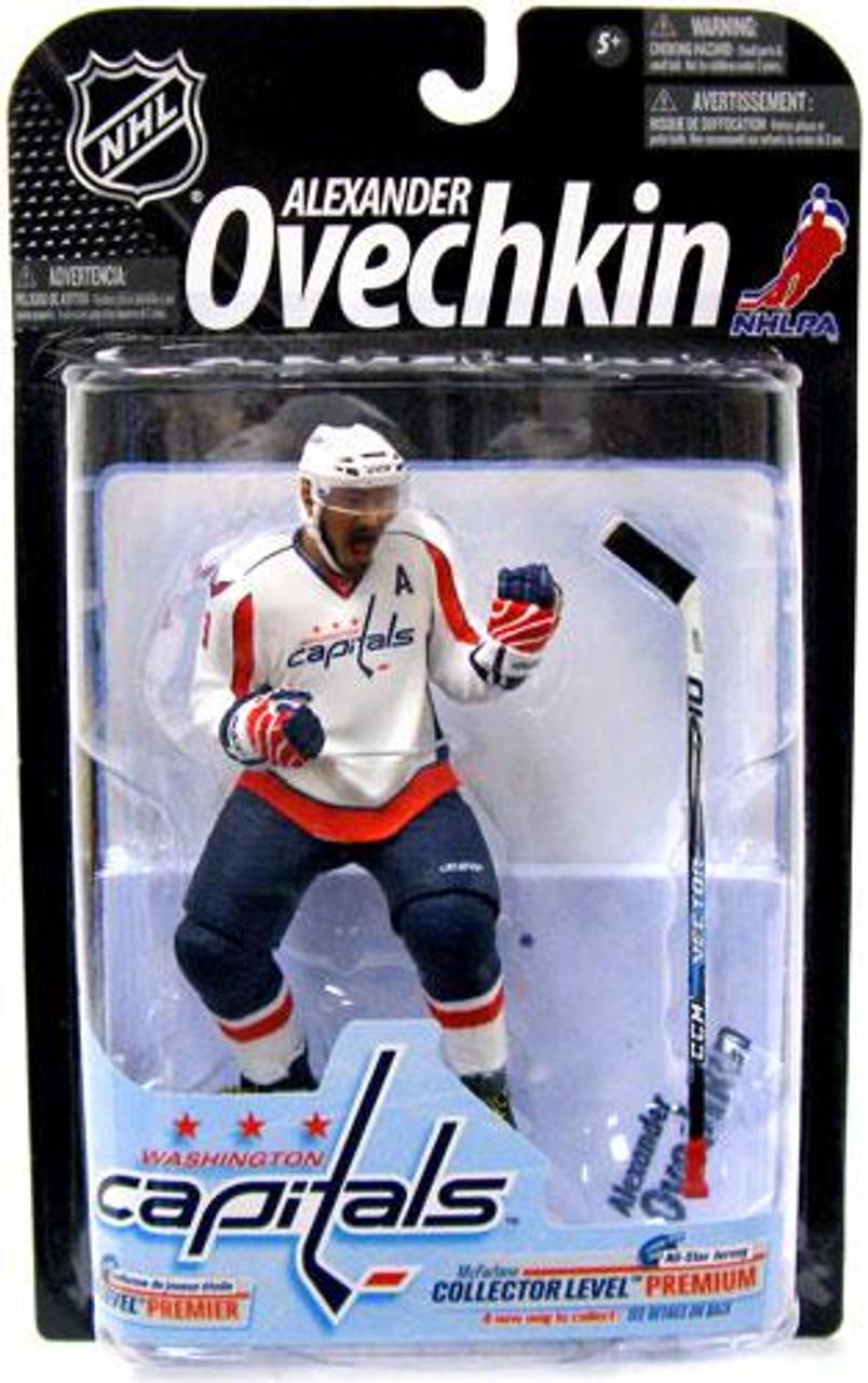 McFarlane Toys NHL Washington Capitals Sports Picks Series 23 Alexander Ovechkin Action Figure [White Jersey Variant]