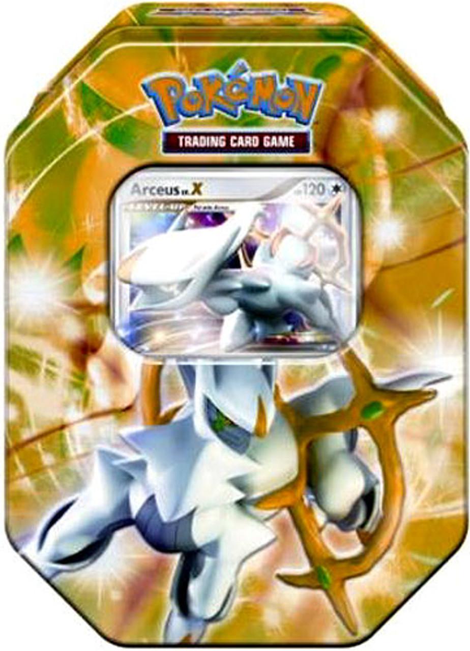 Pokemon 2009 Arceus Exclusive Collector Tin [Green]