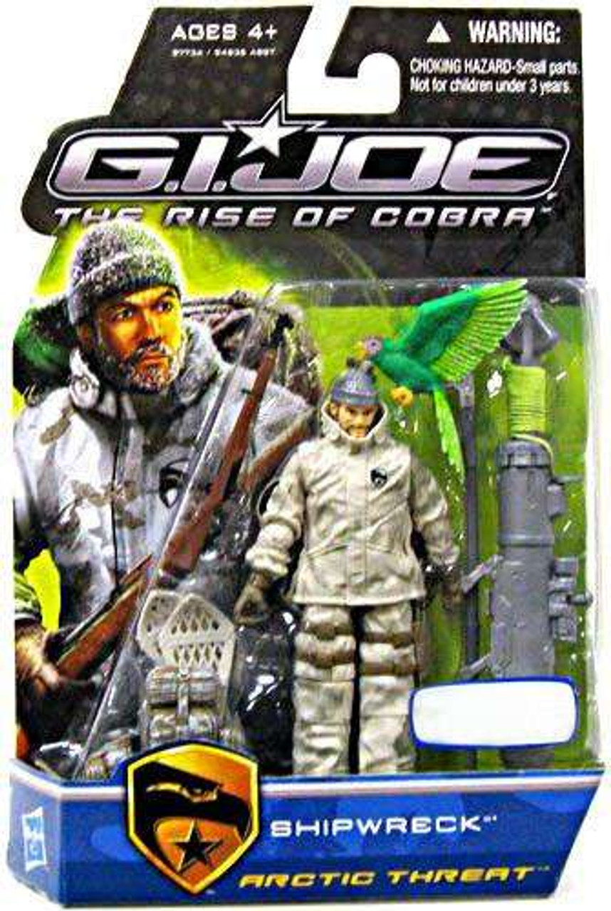 GI Joe The Rise of Cobra Shipwreck Exclusive Action Figure [Arctic Threat]