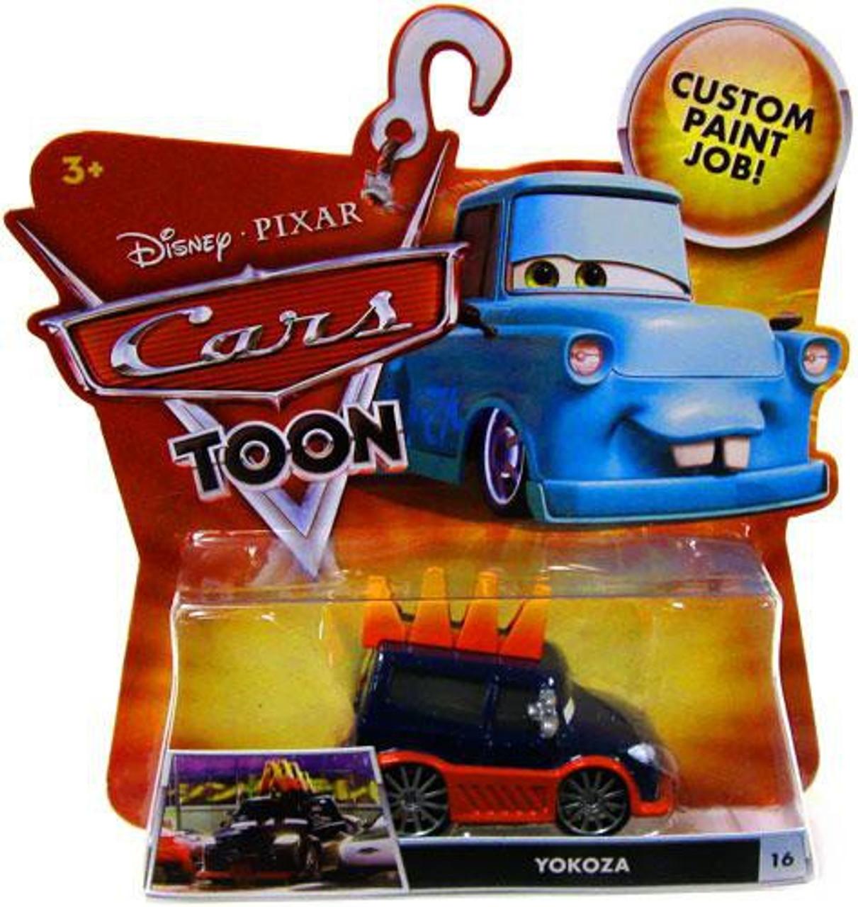 Disney Cars Cars Toon Main Series Yokoza Diecast Car #16