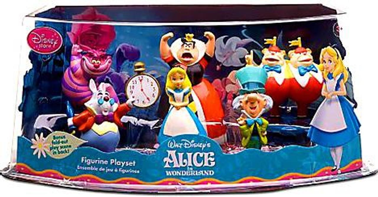Disney Alice in Wonderland Exclusive Figurine Playset