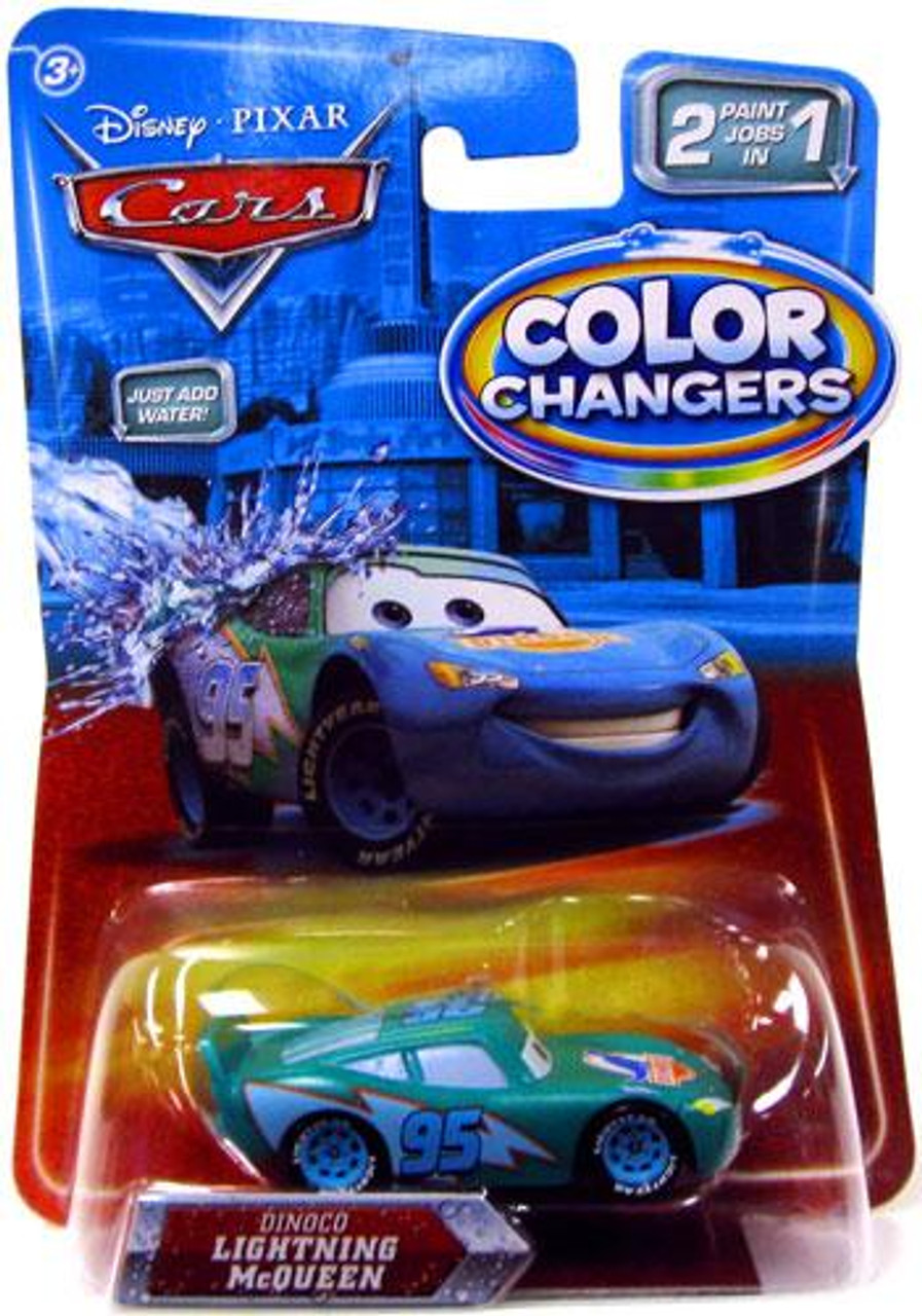 Disney Cars Color Changers Dinoco Lightning McQueen Diecast Car
