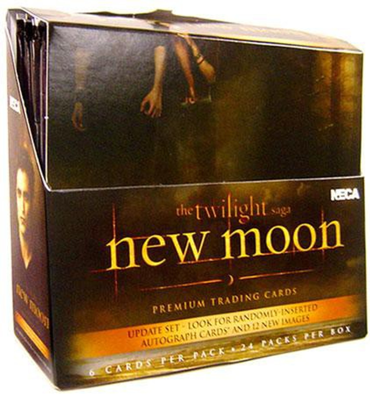 NECA Twilight New Moon Update Edition Trading Card Box