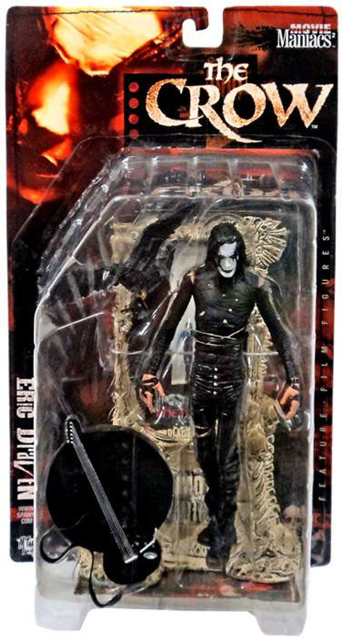 McFarlane Toys The Crow Movie Maniacs Series 2 Eric Draven Action Figure