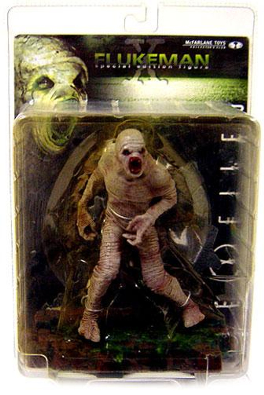 McFarlane Toys The X-Files Collector's Club Flukeman Action Figure