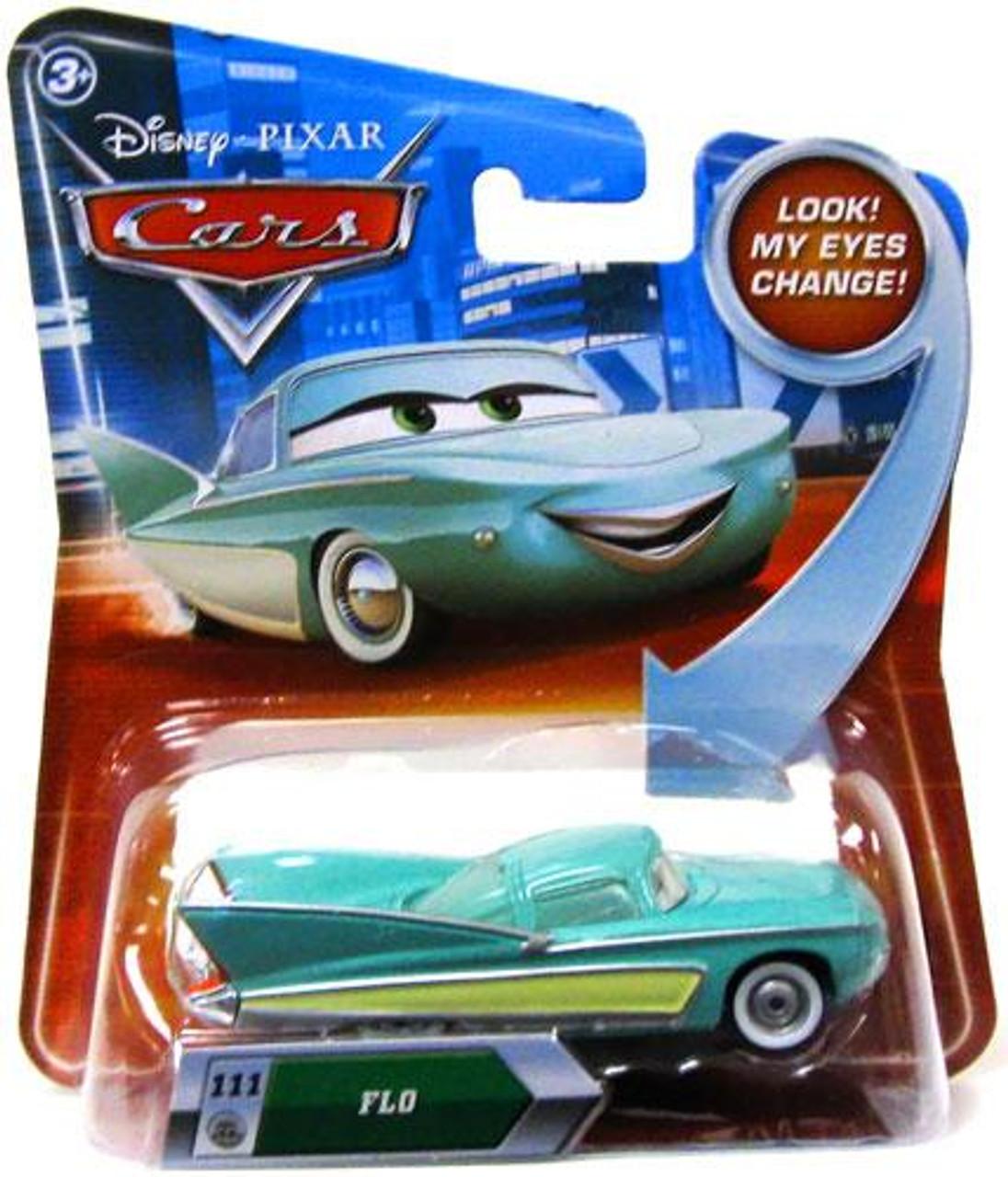 Disney Cars Lenticular Eyes Series 2 Flo Diecast Car