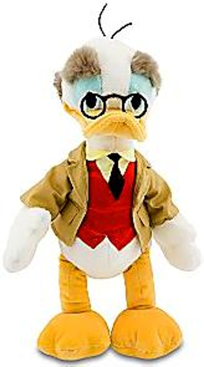 Disney Mickey Mouse Professor Ludwig Von Drake Exclusive 18-Inch Plush