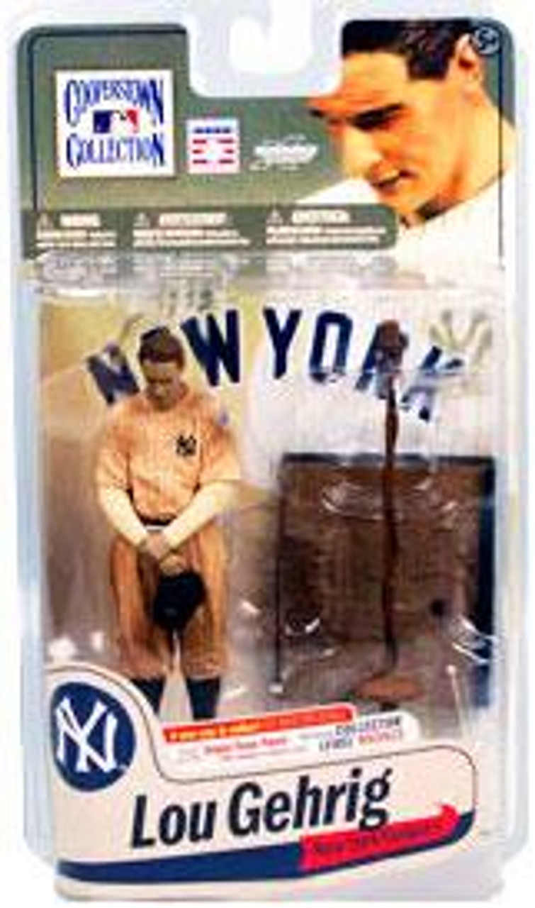 McFarlane Toys MLB Cooperstown Collection Series 7 Lou Gehrig Action Figure [Sepia Jersey]