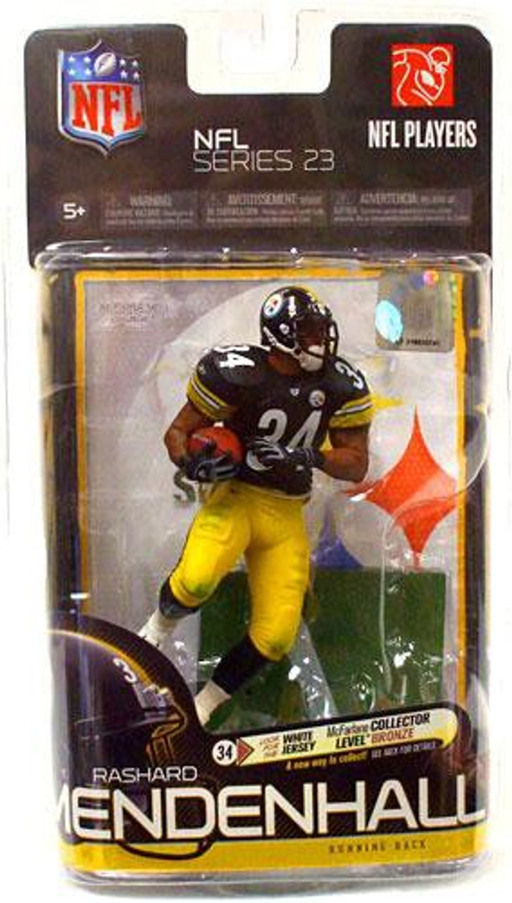 McFarlane Toys NFL Pittsburgh Steelers Sports Picks Series 23 Rashard Mendenhall Action Figure [Black Jersey]