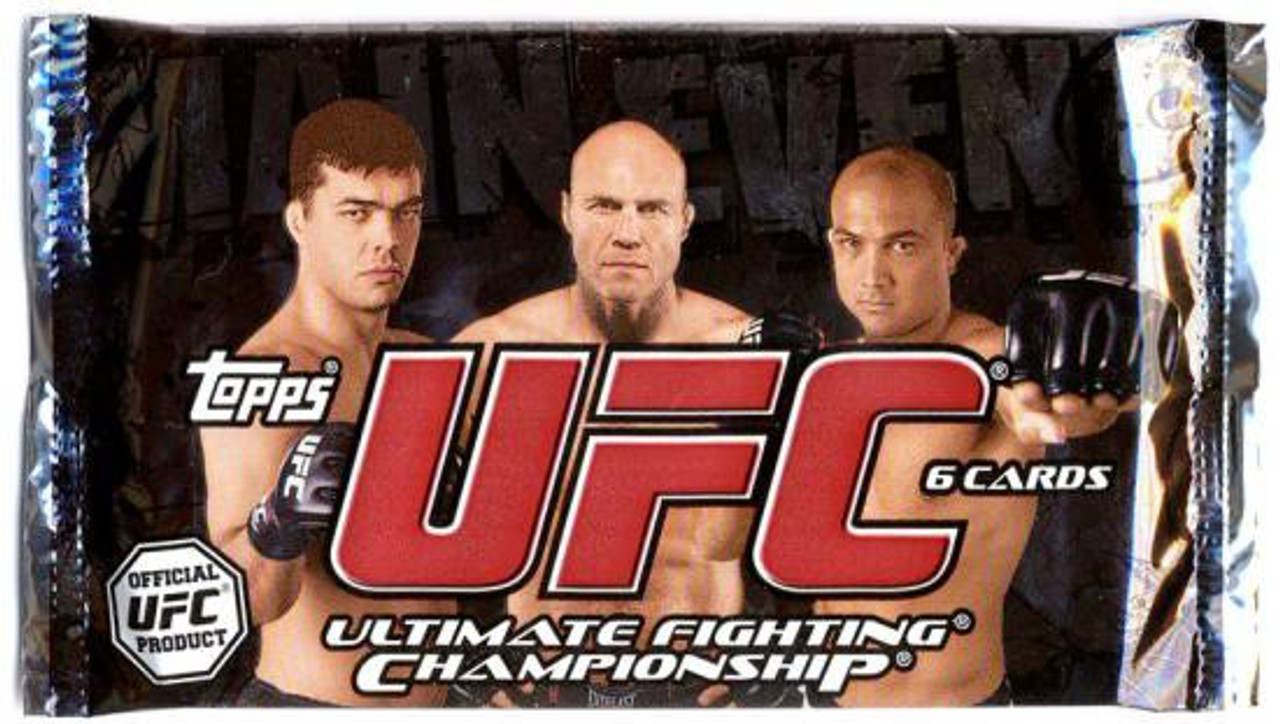 UFC 2010 Main Event Trading Card RETAIL Pack