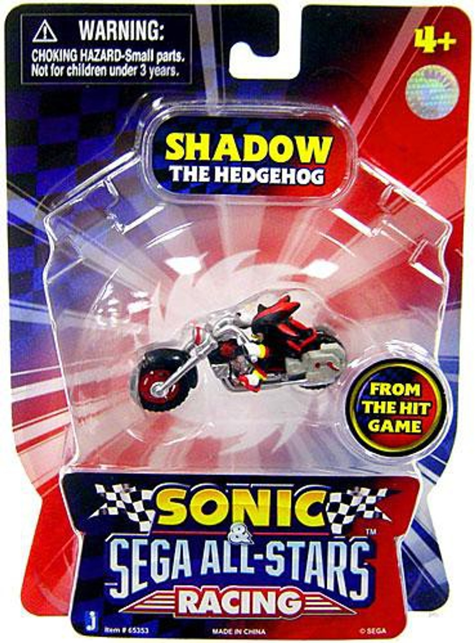 Sonic The Hedgehog Sega All-Stars Racing Shadow 1.5-Inch Figure Vehicle