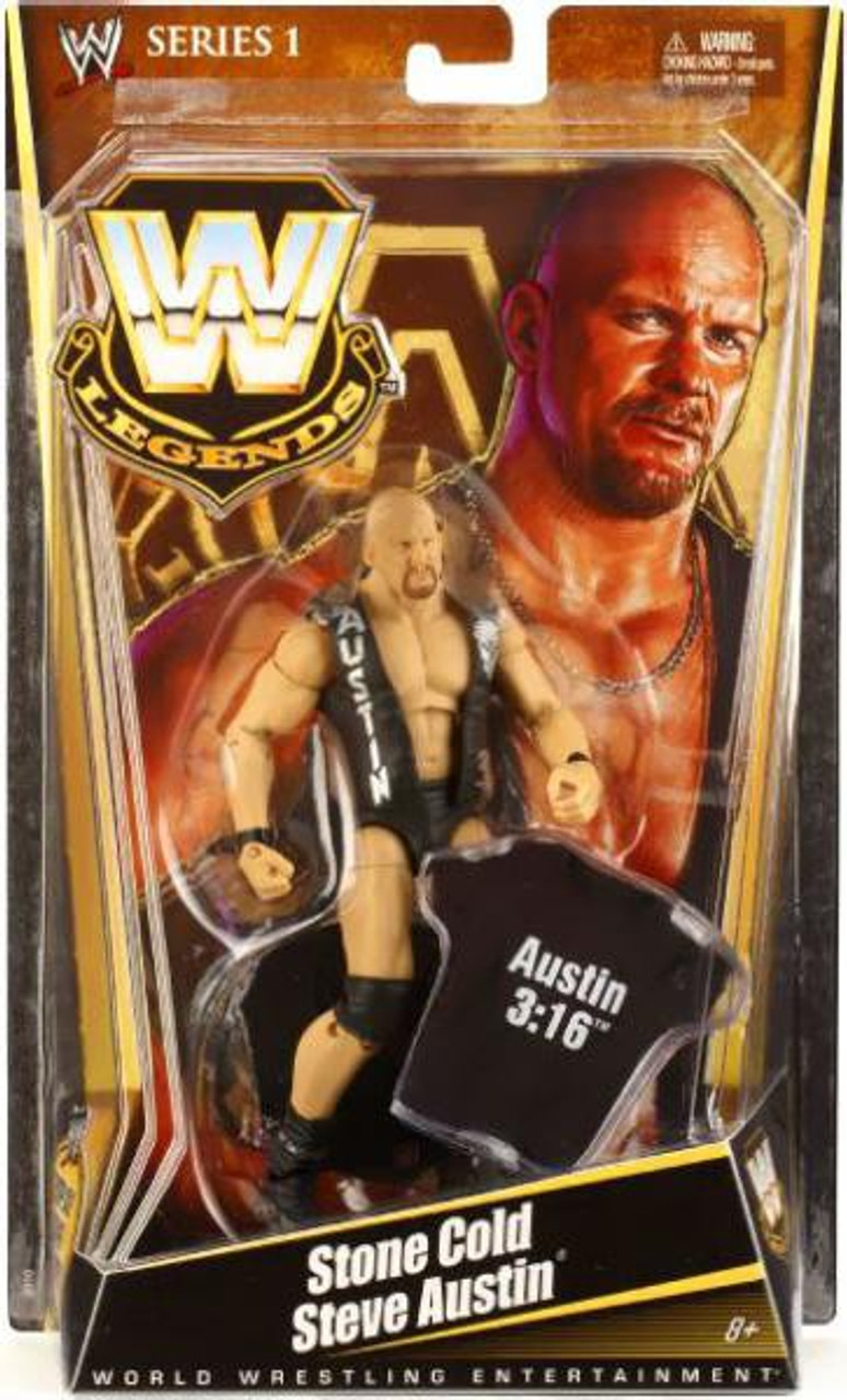 WWE Wrestling Legends Series 1 Stone Cold Steve Austin Action Figure