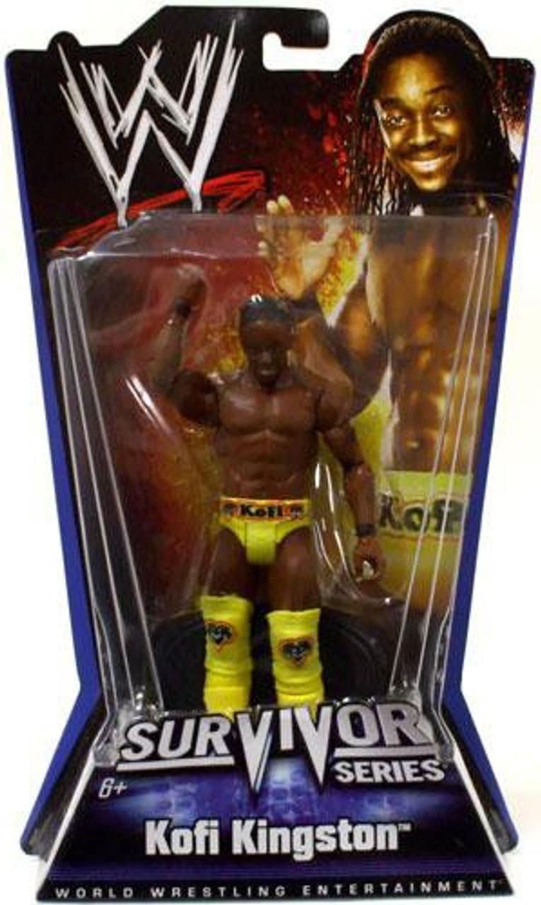 WWE Wrestling Pay Per View Series 1 Survivor Series Kofi Kingston Action Figure
