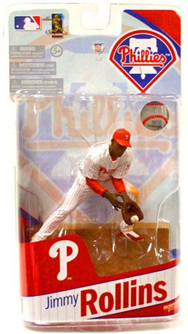 McFarlane Toys MLB Sports Picks 2010 Philadelphia Phillies Jimmy Rollins Action Figure