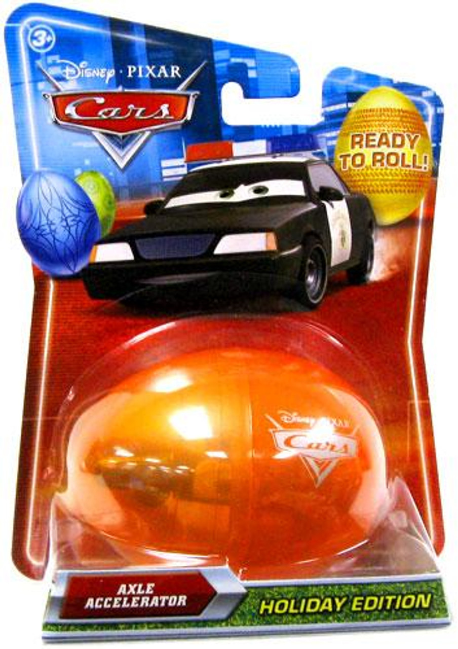 Disney Cars Easter Eggs Axle Accelerator Diecast Car [Easter Egg]
