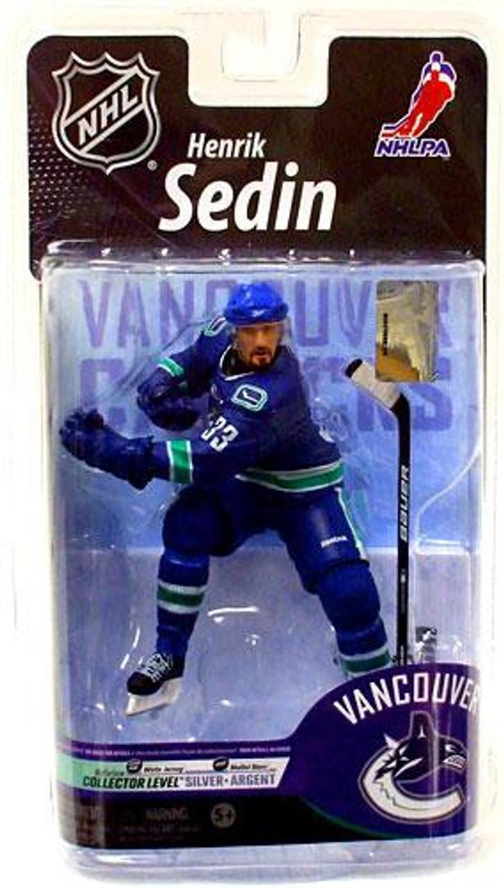McFarlane Toys NHL Vancouver Canucks Sports Picks Series 25 Henrik Sedin Action Figure