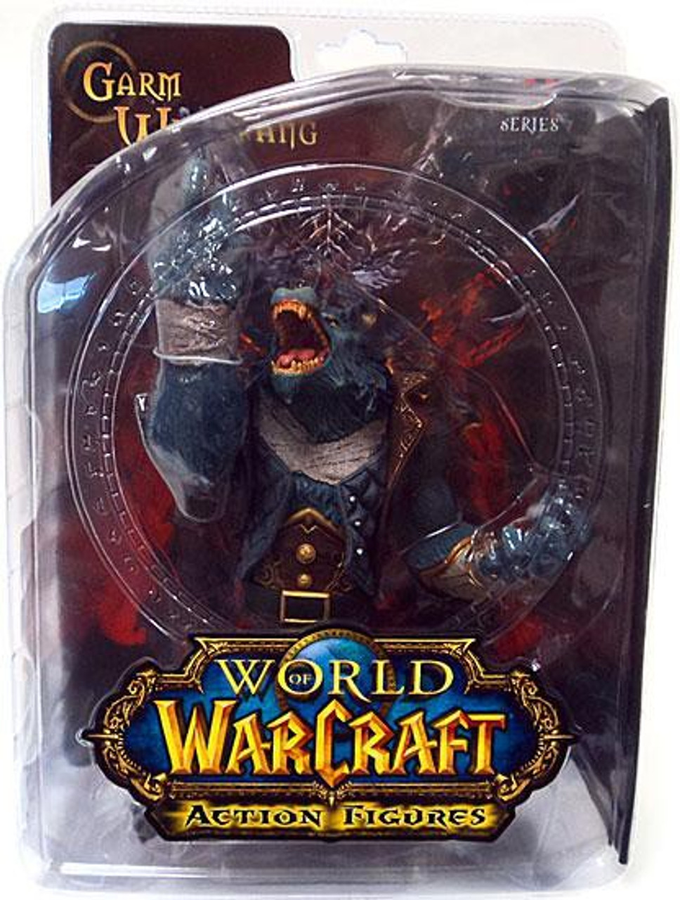 World of Warcraft Series 7 Garm Whitefang Action Figure [Worgen]