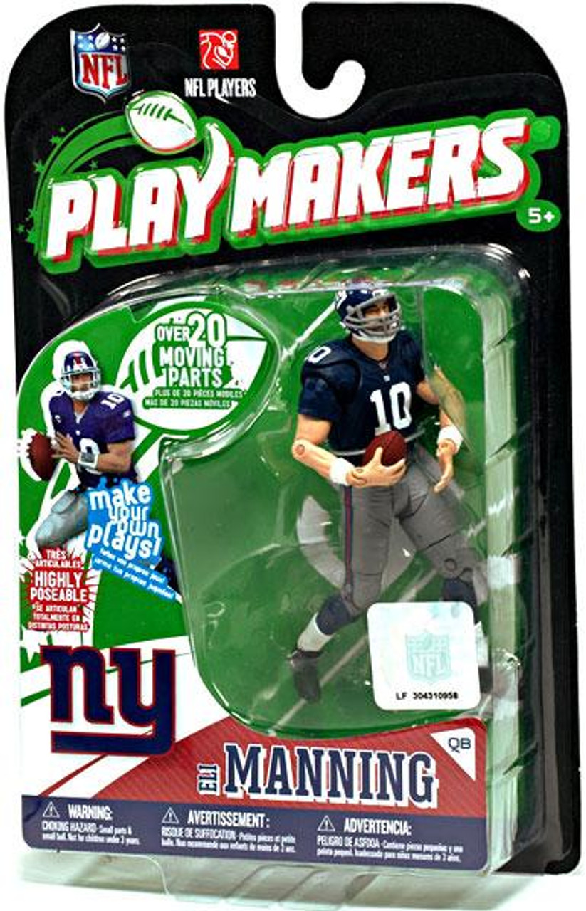McFarlane Toys NFL New York Giants Playmakers Series 1 Eli Manning Action Figure