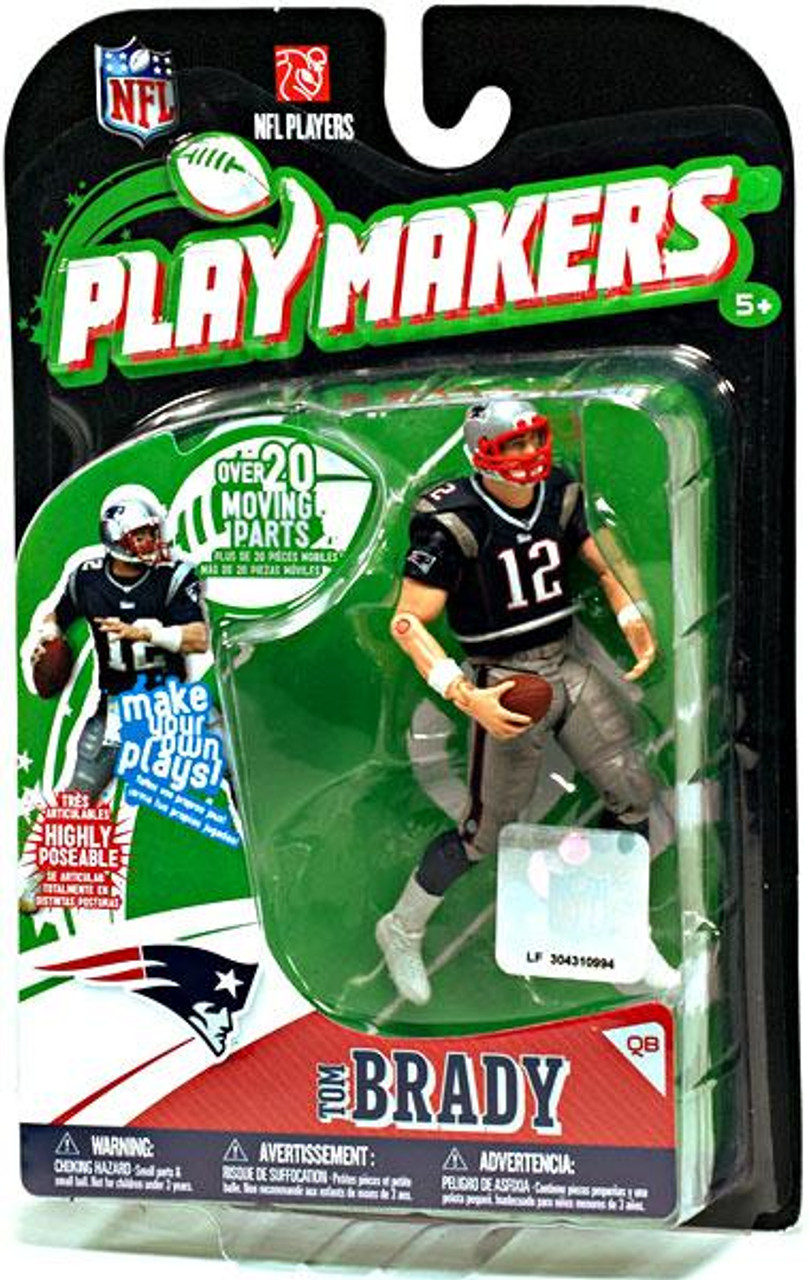 McFarlane Toys NFL New England Patriots Playmakers Series 1 Tom Brady Action Figure