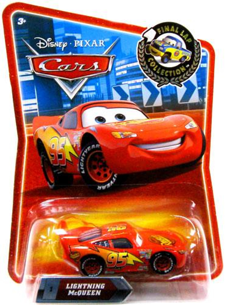 Disney Cars Final Lap Collection Lightning McQueen Exclusive Diecast Car