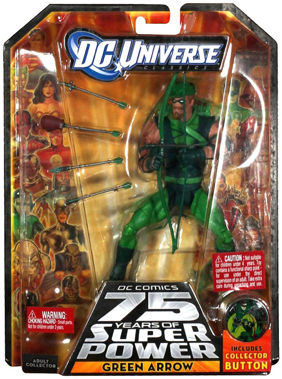 DC Universe 75 Years of Super Power Classics Green Arrow Action Figure