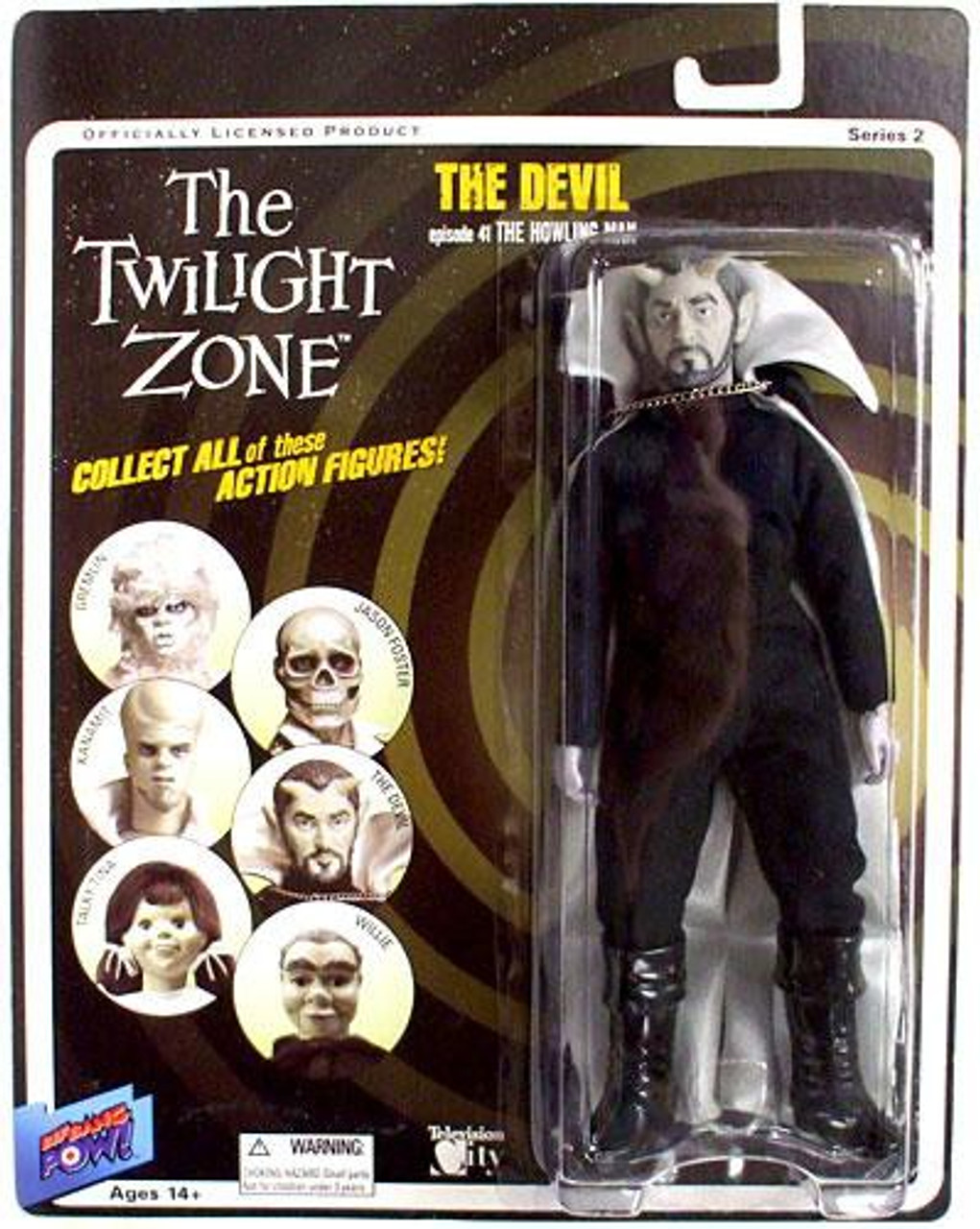 The Twilight Zone Series 2 The Devil Action Figure