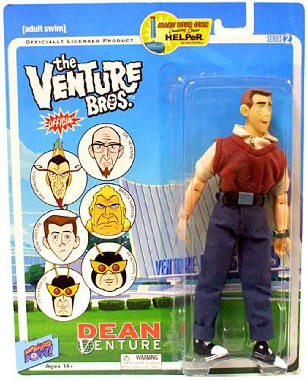 The Venture Bros. Series 2 Dean Venture Action Figure