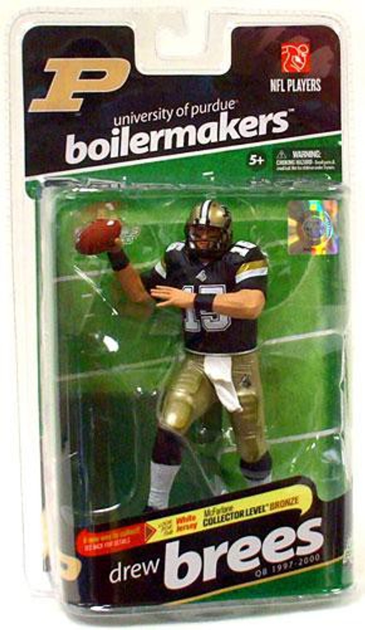 McFarlane Toys NCAA College Football Sports Picks Series 2 Drew Brees Action Figure [Black Jersey]