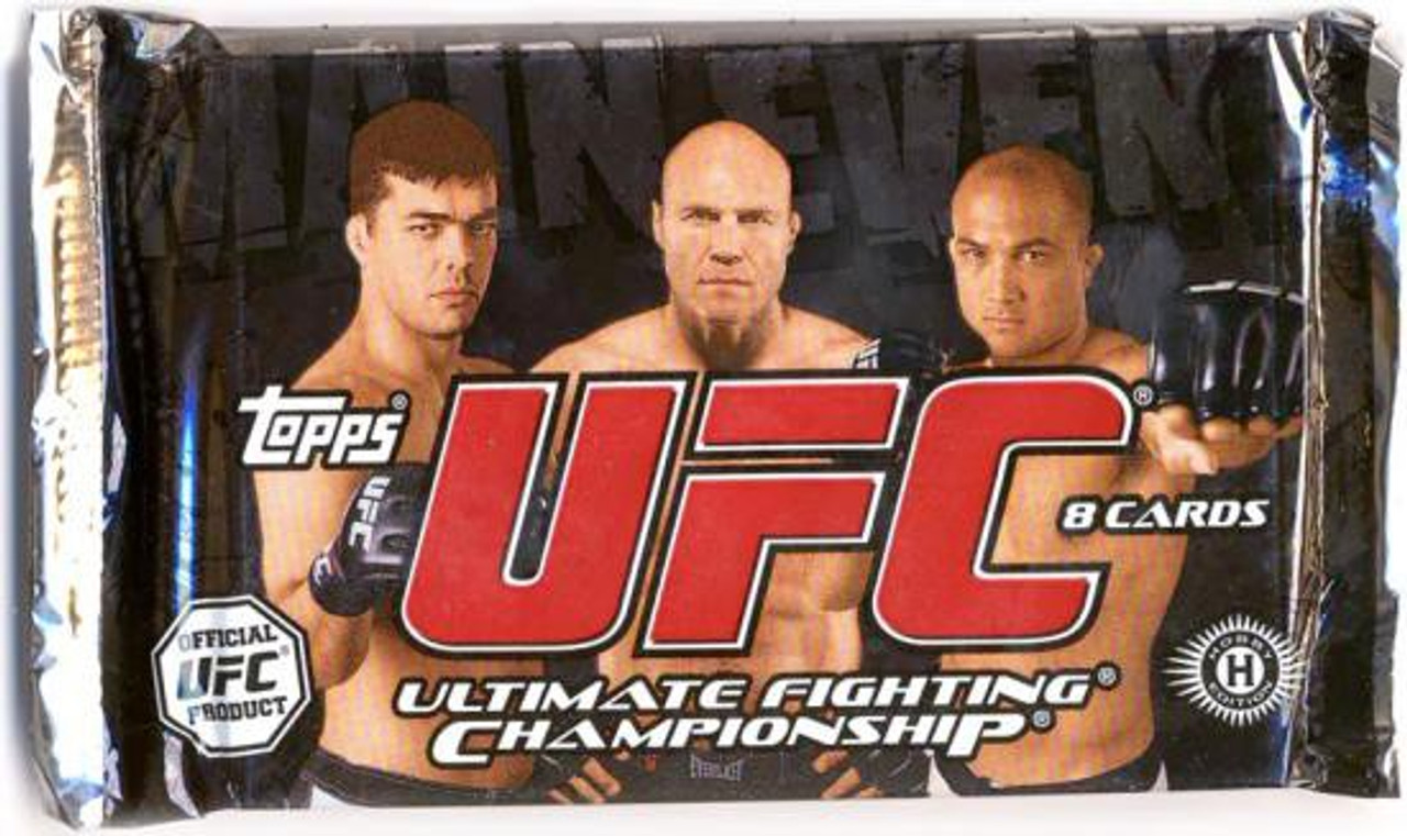 UFC 2010 Main Event Trading Card Pack