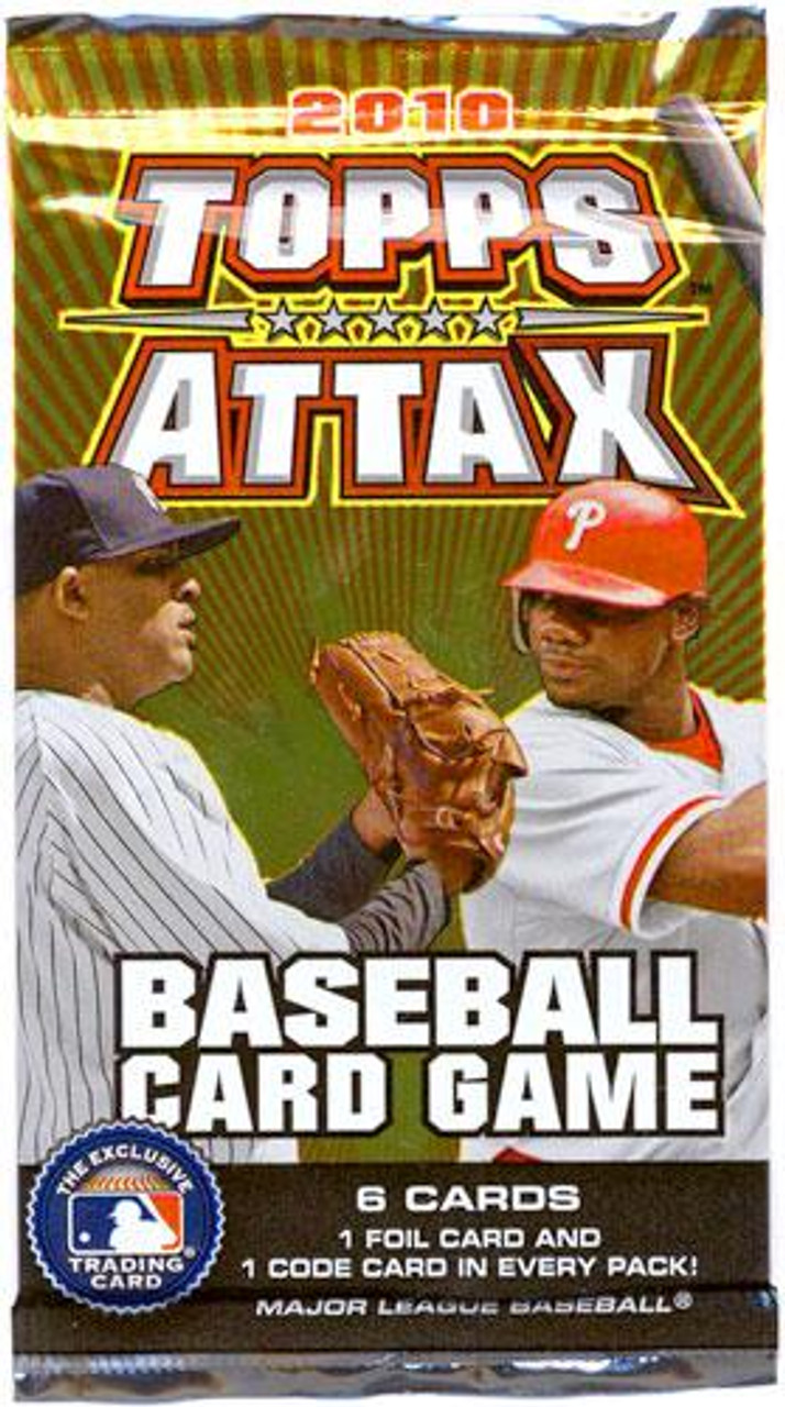 2010 MLB Topps Attax Booster Pack
