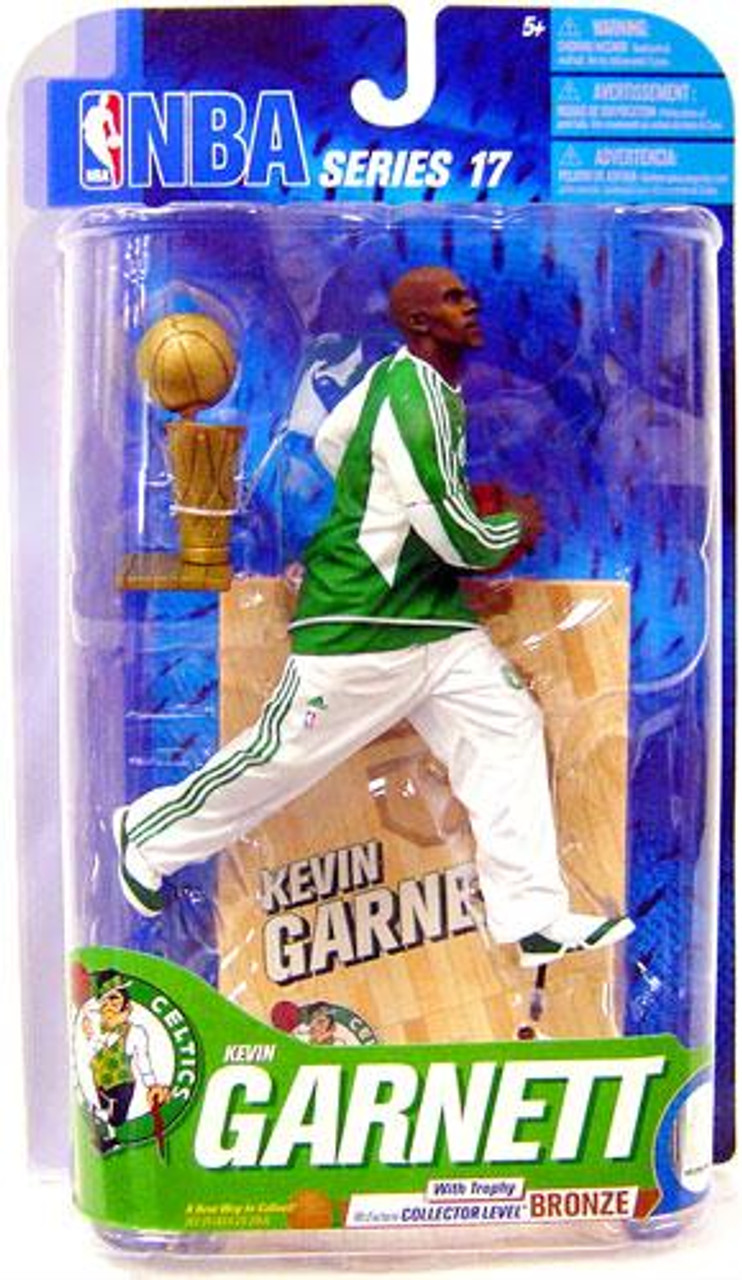 McFarlane Toys NBA Boston Celtics Sports Picks Series 17 Kevin Garnett Action Figure [Trophy]