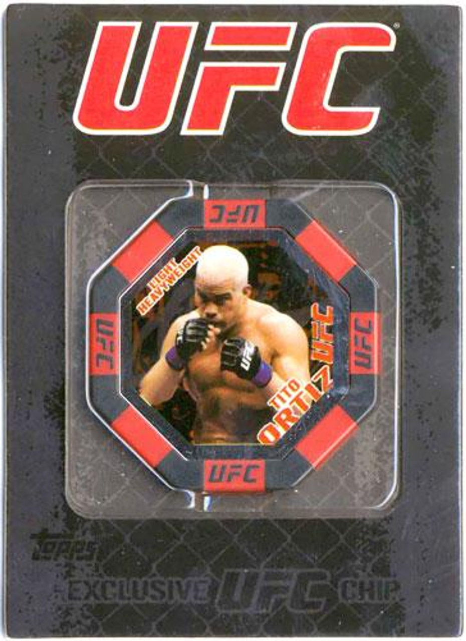UFC Main Event Tito Ortiz Exclusive Poker Chip #4