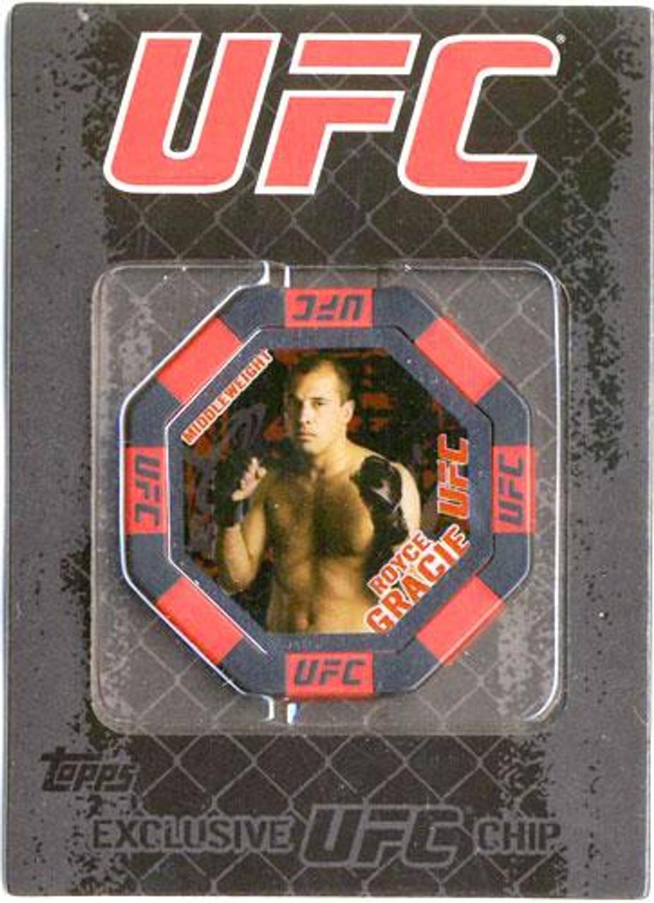UFC Main Event Royce Gracie Exclusive Poker Chip #7