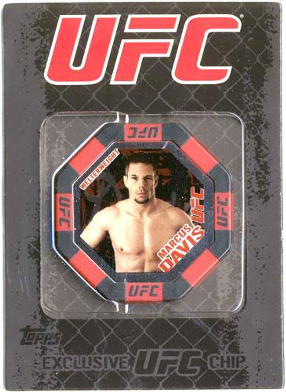UFC Main Event Marcus Davis Exclusive Poker Chip #14