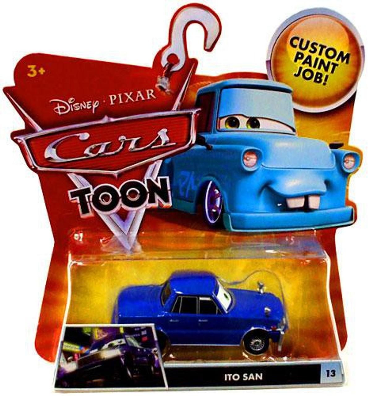 Disney Cars Cars Toon Main Series Ito San Diecast Car #13